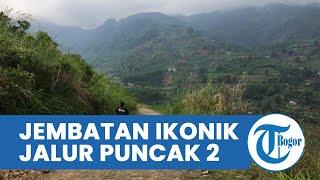 Jembatan Ikonik Bakal Dibangun di Perbatasan Jalur Puncak 2 Antara Bogor-Cianjur