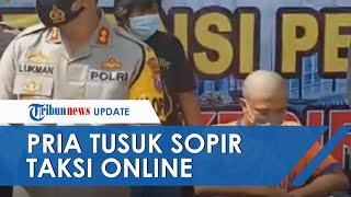 Terlilit Utang Rp50 Juta, Pria di Kediri Tusuk Sopir Taksi Online hinga Tewas