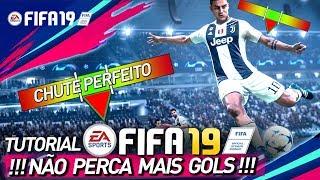 """FIFA 19 - TUTORIAL NOVO CHUTE - NÃO PERCA MAIS GOLS - """"TIMED FINISHING"""""""