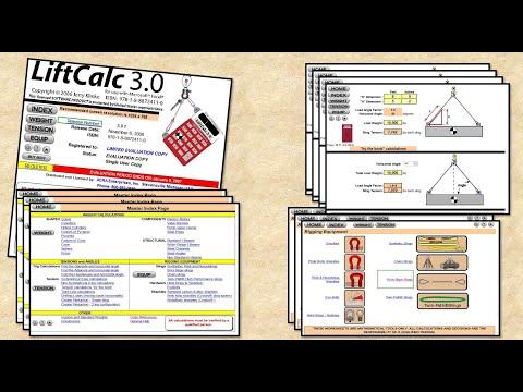 Lifting Calc 3 تطبيق حاسبة الرفع