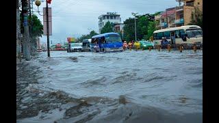 Tin mới cập nhật Sài Gòn Ngập nặng sau cơn mưa xế chiều, dự báo sẽ còn mưa cả tuần bao giờ hết ngập