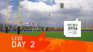 preview picture of video 'Day 2 Live   Nanjing 2014 Youth Olympic Games'