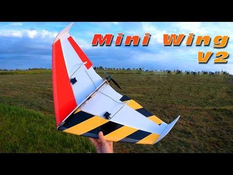Runcam Micro Swift 2 combo-set - Test flight on Scratchbuild wing 2