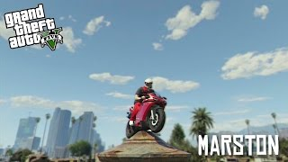 Marston: Cattleman - GTA V Stunt Montage