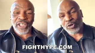 """MIKE TYSON KEEPS IT 100 ON WILDER'S LOSS & FURY-WILDER 3 WITH FAT JOE: """"HE DIDN'T FIGHT THE SAME"""""""