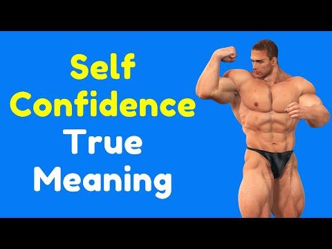 Self Confidence True Meaning | Improve Self Confidence