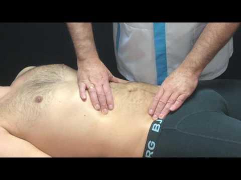 Rückenschmerzen auf der linken Seite nach oben