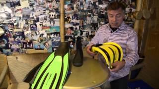 Ласты для дайвинга с открытой пяткой Mares Excite Pro от компании МагазинCalipso dive shop - видео