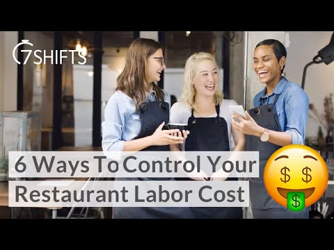 6 Ways To Control Your Restaurant Labor | 7shifts youtube video thumbnail
