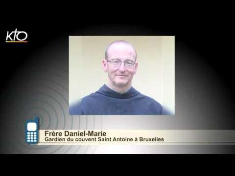 #PrayForBrussels : Frère Daniel Marie