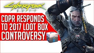 Witcher 3 Dev Comments On Massive Loot Box Backlash