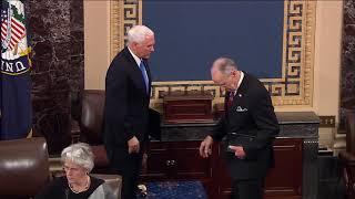 Senator Grassley is Sworn in as President Pro Tempore of 116th Congress