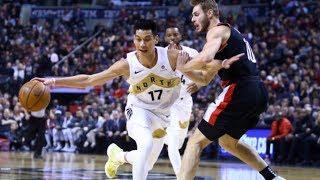 Jeremy Lin Full Highlights - Raptors vs. Blazers