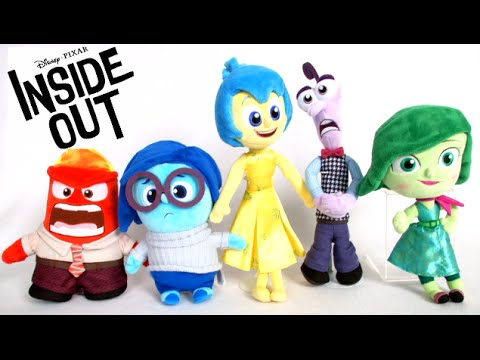Inside Out Joy Talking Stuffed Doll From Tomy