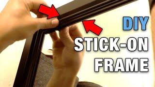 DIY Stick on Mirror Frames (2020)