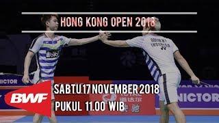 Link Live Streaming Semifinal Hong Kong Open 2018, Duel Wakil Indonesia di Ganda Putra