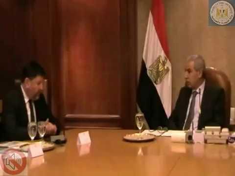 لقاء الوزير/طارق قابيل بالمدير الإقليمى لمنظمة التعاون الإقتصادى والتنمية