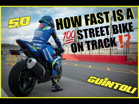 VIDEO: Watch Sylvain Guintoli put a stock GSX-R around Donington. This is WELL WORTH watching in full