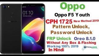 Oppo F7 Pattern Unlock Mrt