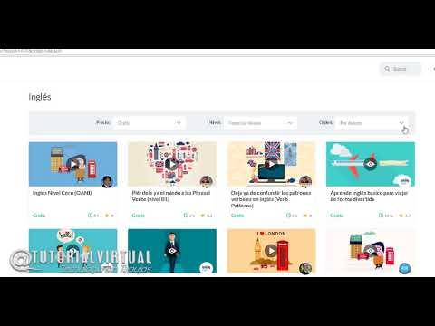 Como buscar Cursos Online Gratis en Tutellus 2018