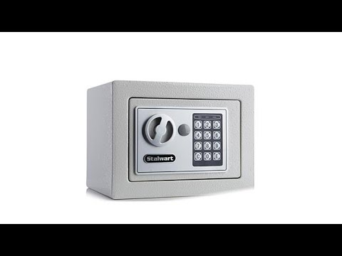 Stalwart Digital Locking Steel Security Safe