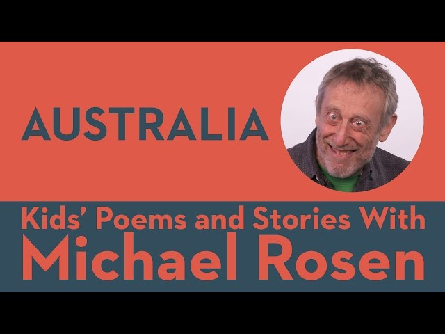 Australia | POEM | Kids' Poems and Stories With Michael Rosen