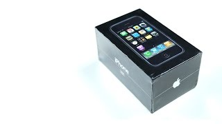 Распаковка iPhone 2G за 500.000р.