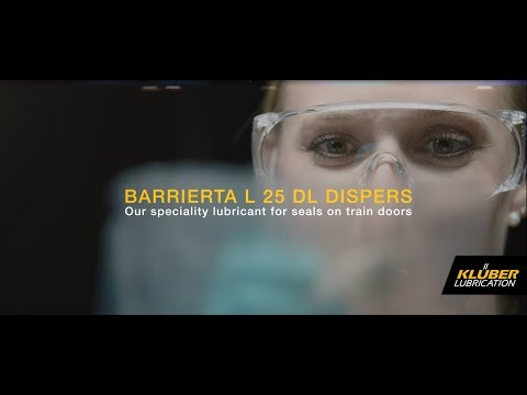 Reliable operation of train doors with BARRIERTA L 25 DL DISPERS