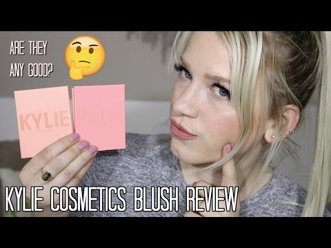 KYLIE COSMETICS BLUSH REVIEW | X Rated & Barely Legal blush Kylie Cosmetics | KendraCus
