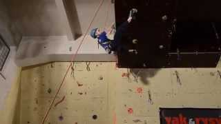 preview picture of video 'Max Patterson climbing in Modra, Slovakia'