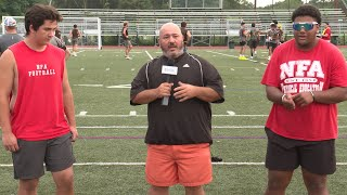 NFA football preview: Sam Sweeney and Jordan Ribeiro