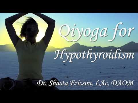 3 women sitting on yoga mats working on hypothyroid exercise