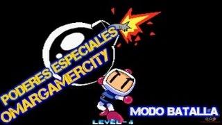 Neo Bomberman PC - Todos Los Poderes Especiales! ¡MODO BATALLA!