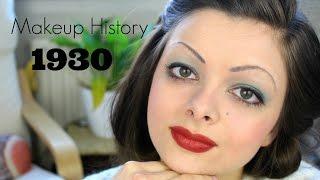 Makeup History: 1930s