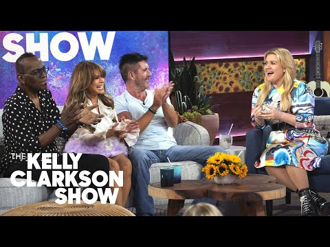 Simon Cowell, Paula Abdul & Randy Jackson Say Kelly Was A 'Game Changer' | The Kelly Clarkson Show