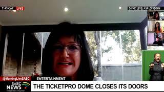 The Ticketpro Dome entertainment venue closes due to COVID-19