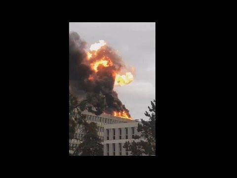 Ισχυρή έκρηξη στο πανεπιστήμιο La Doua της Λυών