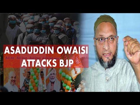 Asaduddin Owaisi attacks BJP by tweeting, says Corona virus making Muslims a scapegoat