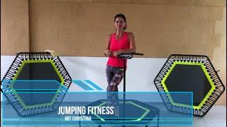 alleswirdgut Jumping Fitness Workout  mit Christina 30 intensive Minuten