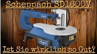 Review & Langzeit Test Scheppach SD 1600 V Dekupiersäge | Ist Sie wirklich so gut?