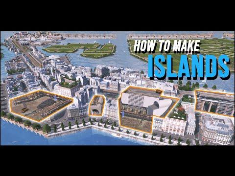 Cities Skylines Athalassya [9] How to make Islands
