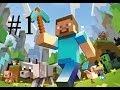 Minecraft : แต่งบ้านปลูกผัก!!! #1 - YouTube