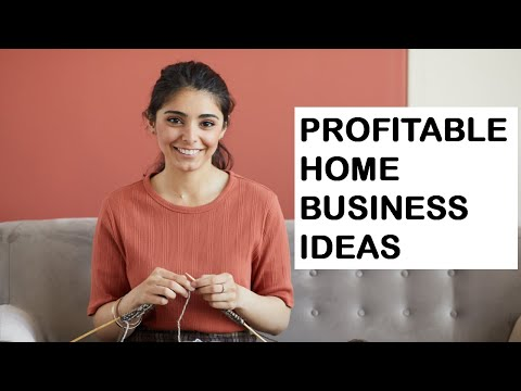 5 Most Profitable Home Business Ideas