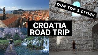 Top Cities for Croatia Road Trip (Plus Bosnia) | Coast, Lakes, Mountains, and Walls