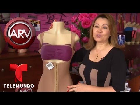 Una experta revela las diferencias entre los distintos tipos de fajas | Al Rojo Vivo | Telemundo
