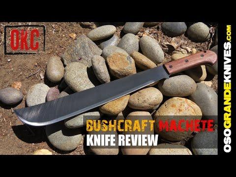 Ontario Bushcraft Machete OK6520 Review | OsoGrandeKnives