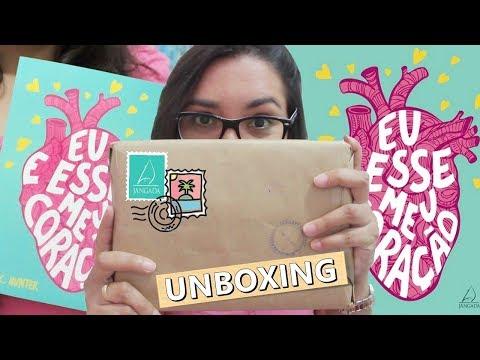 UNBOXING: EU E ESSE MEU CORAÇÃO - EDITORA JANGADA | Amiga da Leitora