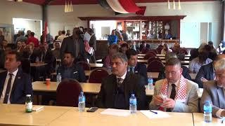 كلمة الهيئة الدولية لمقاطعة النظام الايراني في مؤتمر الجبهة العربية لتحرير الأحواز
