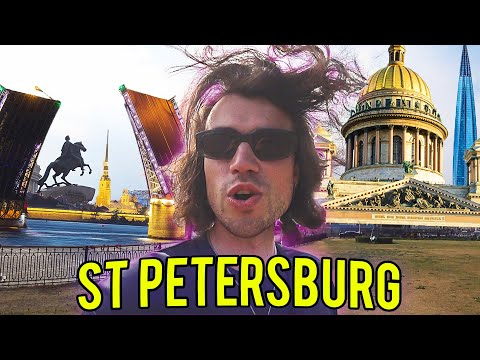 Why St. Petersburg is the Best City in Russia! 🇷🇺