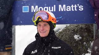 Mogul Matt's: A Run For An  Olympic Silver Medallist & A Great Bloke!